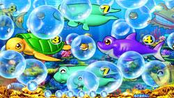 パチンコPAスーパー海物語 IN JAPAN2 金富士 99バージョン泡予告の画像