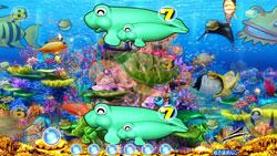 パチンコPAスーパー海物語 IN JAPAN2 金富士 99バージョン珊瑚礁リーチの画像