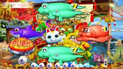 パチンコPAスーパー海物語 IN JAPAN2 金富士 99バージョン宝船リーチの画像