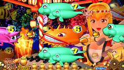 パチンコPAスーパー海物語 IN JAPAN2 金富士 99バージョンマリン和太鼓リーチの画像