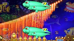 パチンコPAスーパー海物語 IN JAPAN2 金富士 99バージョンナイアガラ花火リーチの画像