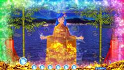 パチンコPAスーパー海物語 IN JAPAN2 金富士 99バージョン金衣装全回転の画像
