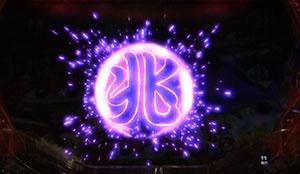 パチンコPAスーパー海物語 IN JAPAN2 金富士 99バージョン兆し前兆紫の画像