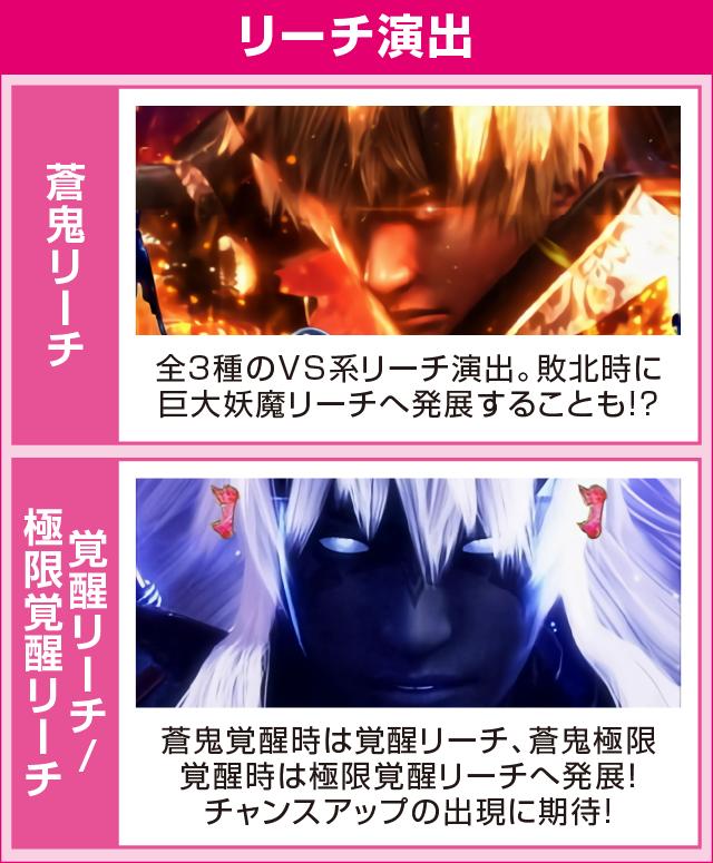 ぱちんこ 新鬼武者 超・蒼剣のピックアップポイント