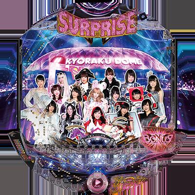 ぱちんこ AKB48-3 誇りの丘のリール