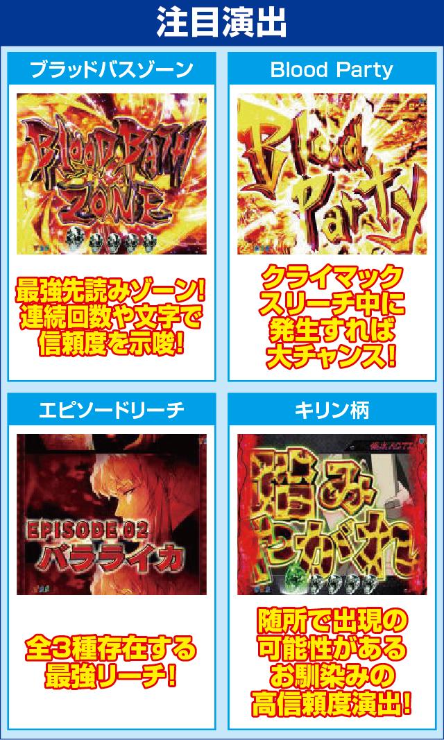 ぱちんこCRブラックラグーン3のピックアップポイント
