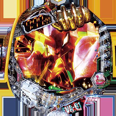 CR ヱヴァンゲリヲン2018年モデル GOLD Impactのリール