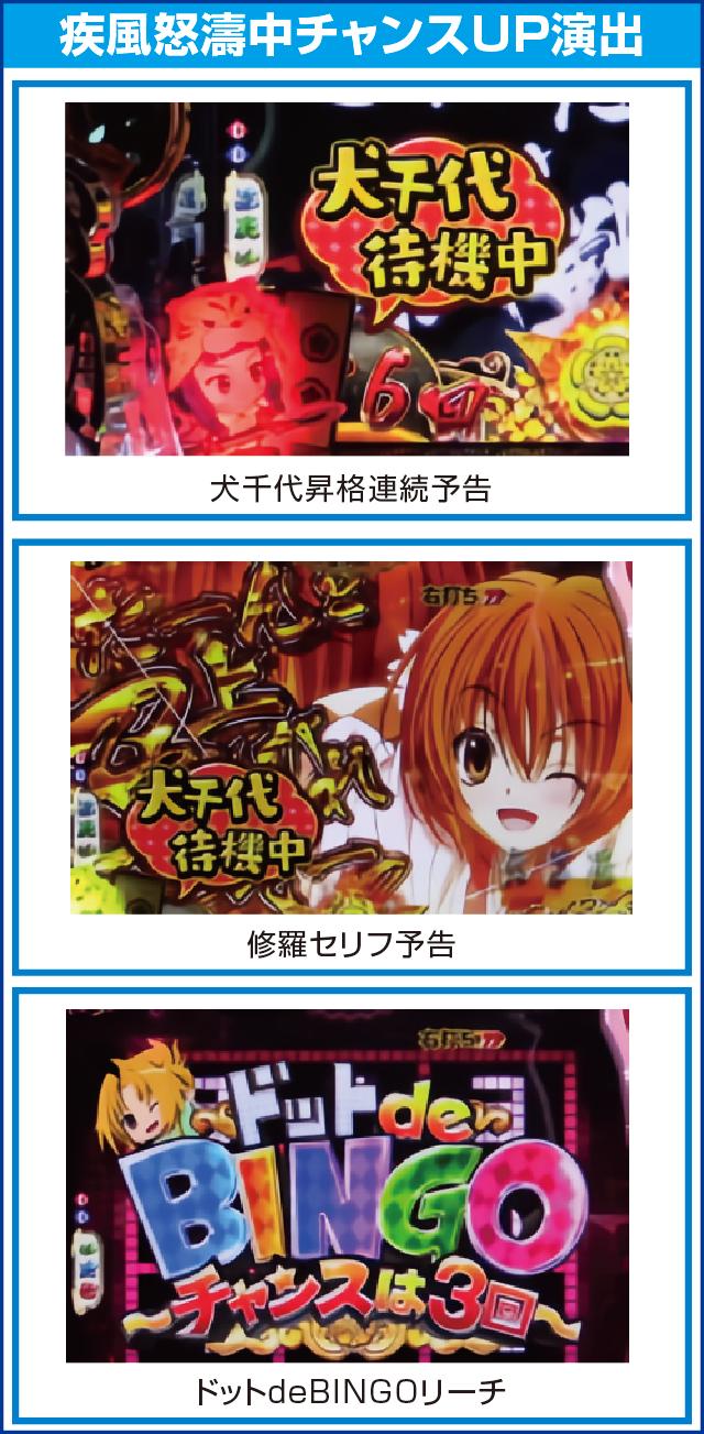 CR織田信奈の野望Ⅱのピックアップポイント