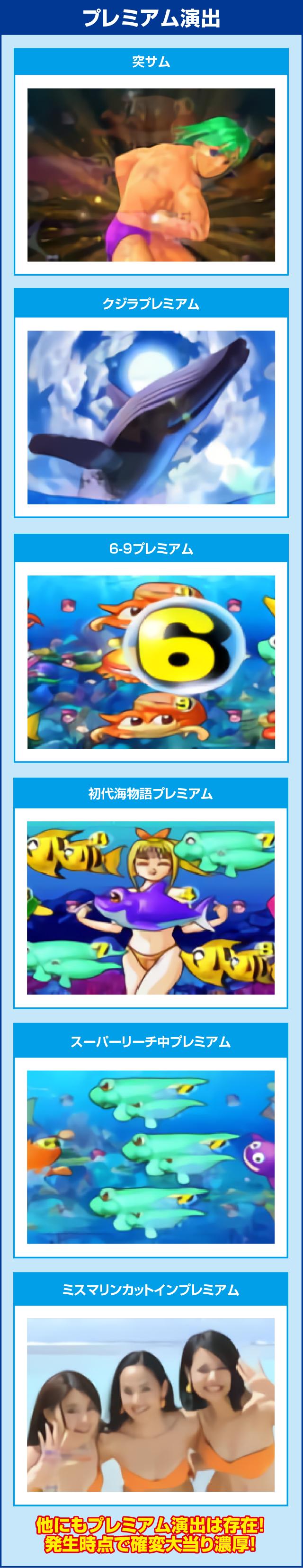 CRスーパー海物語IN沖縄4MTCのピックアップポイント