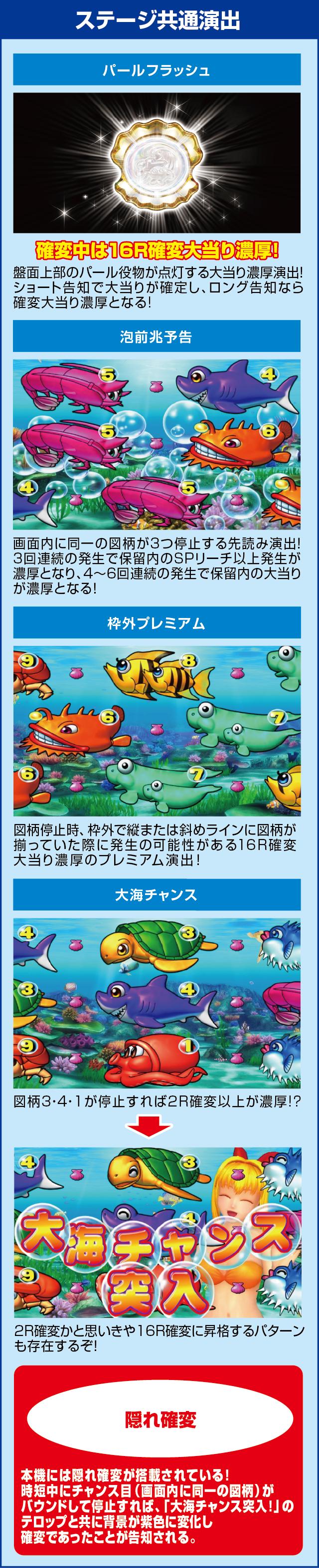 CR大海物語スペシャルMTE15のピックアップポイント