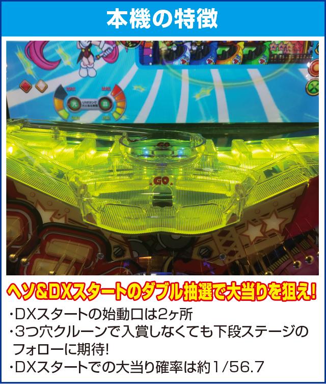 CRA SUPER電役ナナシーDXⅡ 77NVのピックアップポイント