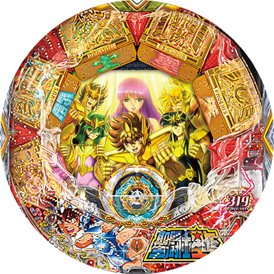 "CR聖闘士星矢4 The Battle of""限界突破""のリール"
