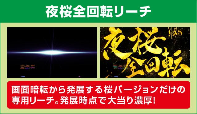 CRスーパー海物語IN沖縄4 桜バージョン 199ver.のピックアップポイント