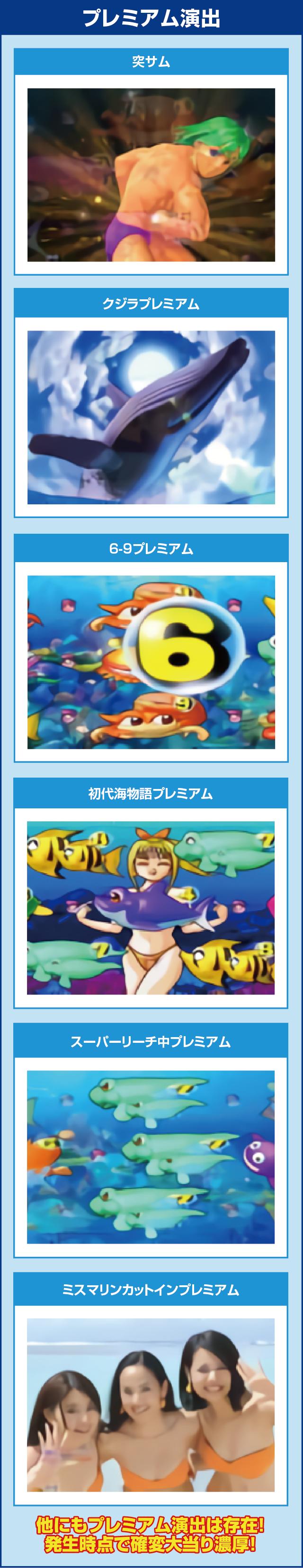 CRAスーパー海物語IN沖縄4withアイマリンのピックアップポイント