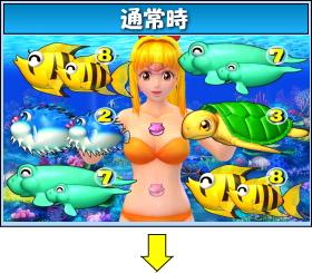 CRスーパー海物語のゲームフロー