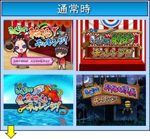 CR 地獄少女 弐 きくりの地獄祭りのゲームフロー