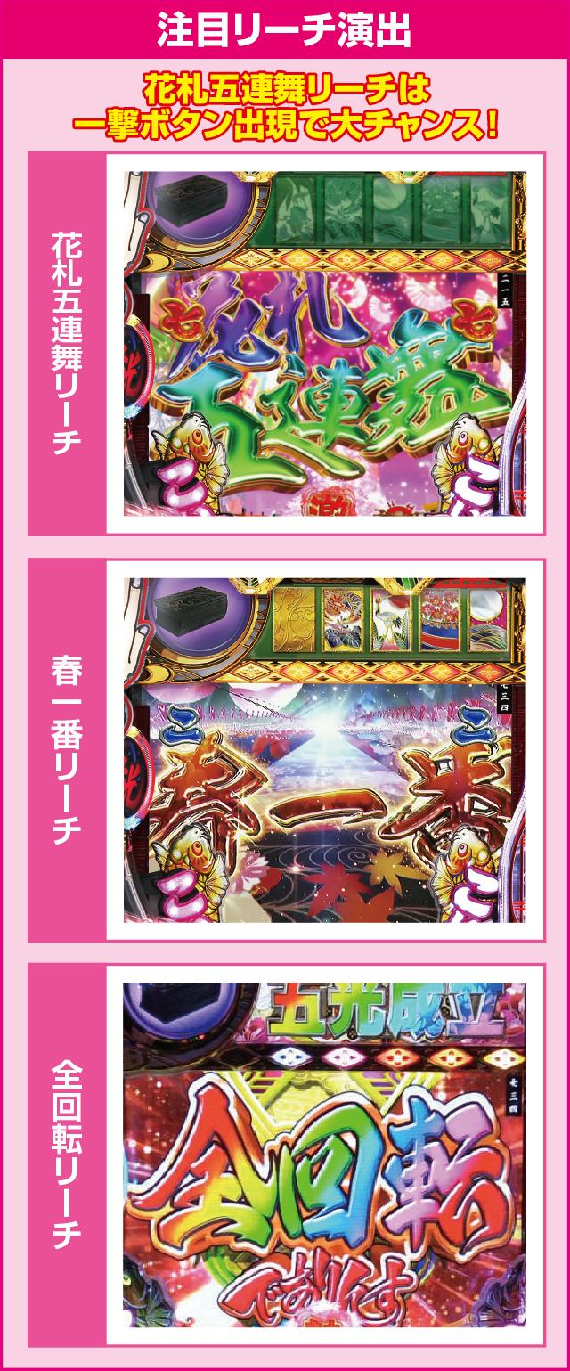 P春一番~花札昇舞~のピックアップポイント