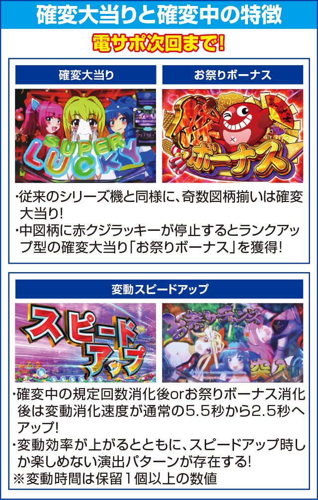 Pスーパー海物語 IN JAPAN2のピックアップポイント