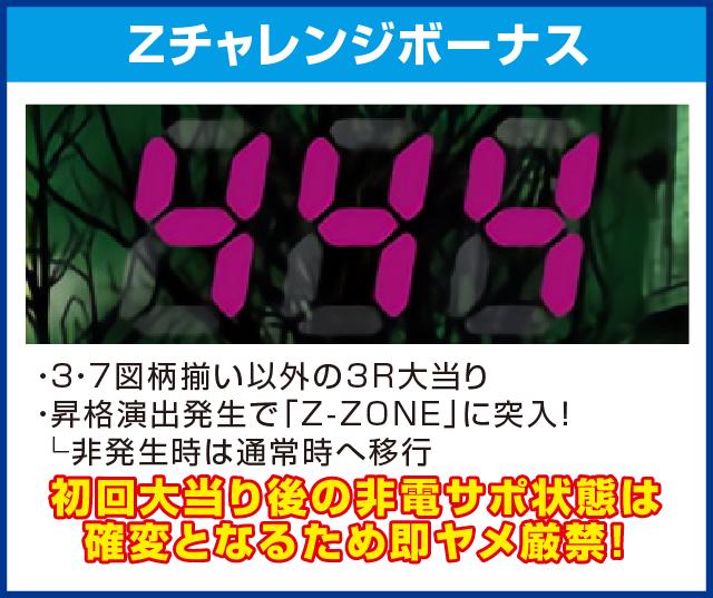 Pゾンビリーバボー~絶叫~S5‐T1のピックアップポイント