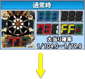 PAロードファラオ~神の一撃~連撃ver.のゲームフロー